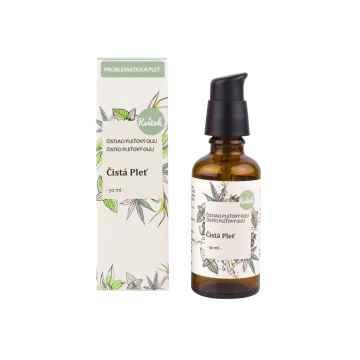 Kvitok Čisticí pleťový olej čistá pleť, mastná pleť 50 ml