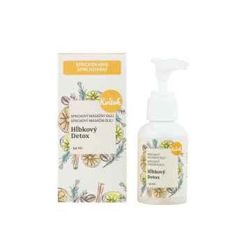 Kvitok Sprchový olej hloubkový detox 50 ml