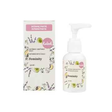 Kvitok Intimní mycí olej feminity 50 ml