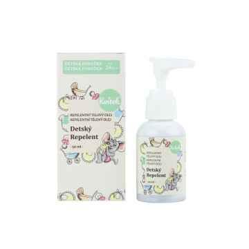 Kvitok Dětský repelentní olej 50 ml