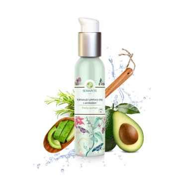 Semante by Naturalis Pretty woman, vyhlazující pleťový olej s avokádem 100 ml
