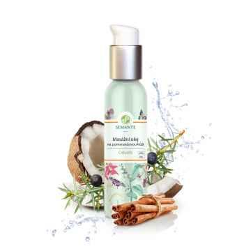 Semante by Naturalis Celustis, masážní olej na pomerančovou kůži 100 ml