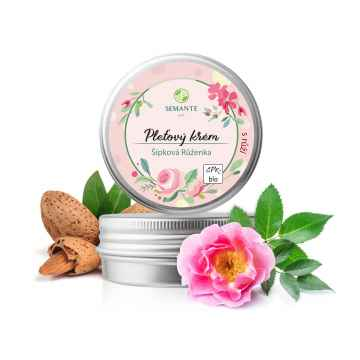 Semante by Naturalis Šípková Řůženka, hydratační pleťový krém s růží 50 ml