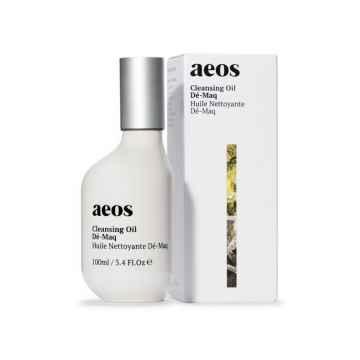 AEOS Přírodní biodynamický olejový odličovač s avokádem, opuncií a kadidlem 100 ml