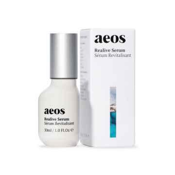 AEOS Přírodní revitalizační biodynamické sérum s opuncií, růží a kyselinou hyaluronovou 30 ml