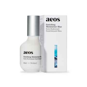AEOS Přírodní biodynamický hydratační a výživný krém, blue 50 ml
