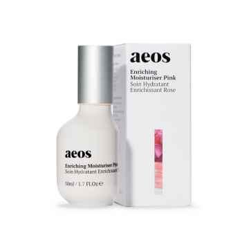 AEOS Přírodní biodynamický hydratační a výživný krém, pink 50 ml