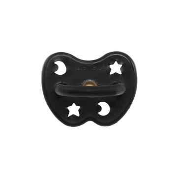 HEVEA Ortodontický dudlík z přírodního kaučuku Outer Space Black 1 ks, 3 - 36 M