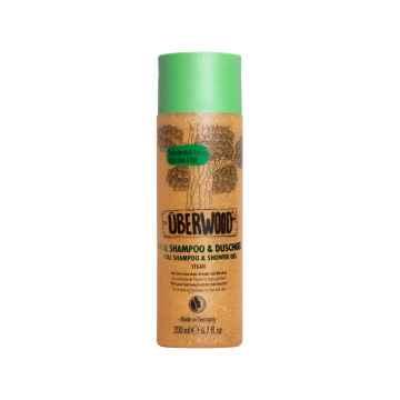 UBERWOOD Vital šampon a sprchový gel 2v1 200 ml