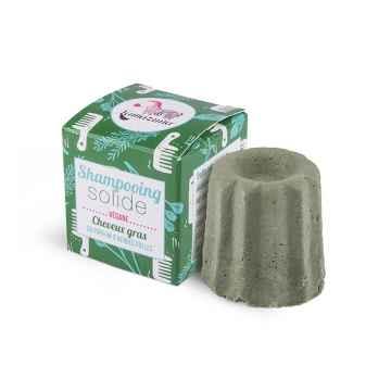 Lamazuna Tuhý šampon pro mastné vlasy 55 g, divoká tráva