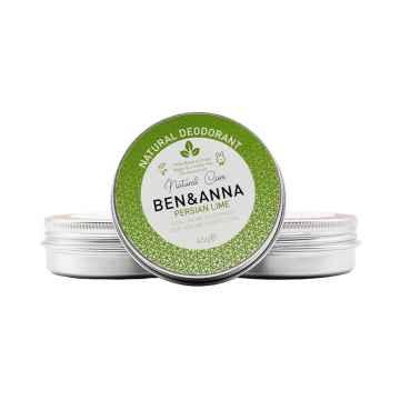 Ben & Anna Tuhý deodorant v kelímku 45 g, perská limetka