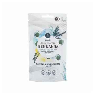 Ben & Anna Sprchový gel v tabletách 120 g, aqua