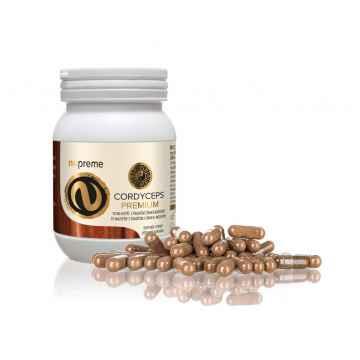 Nupreme Cordyceps premium extrakt, kapsle 100 ks