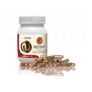 Reishi premium extrakt, kapsle 100 ks, 30 g