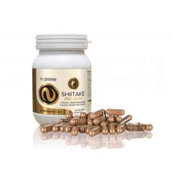 Nupreme Shiitake premium extrakt, kapsle 100 ks