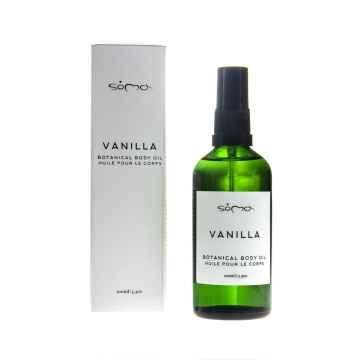 Soma n Botanicals Vanilkový tělový olej s bergamotem 100 ml