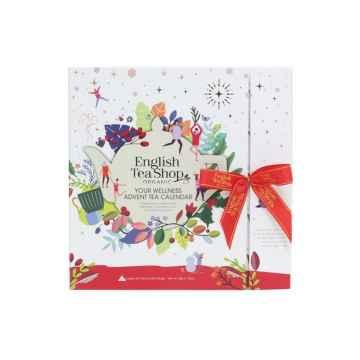 English Tea Shop Bílý adventní kalendář Wellness 25 ks