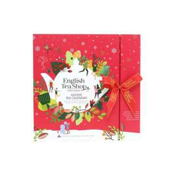 English Tea Shop Červený adventní kalendář 25 ks