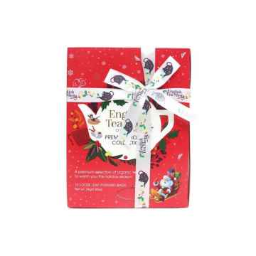 English Tea Shop Červená vánoční kolekce 12 ks