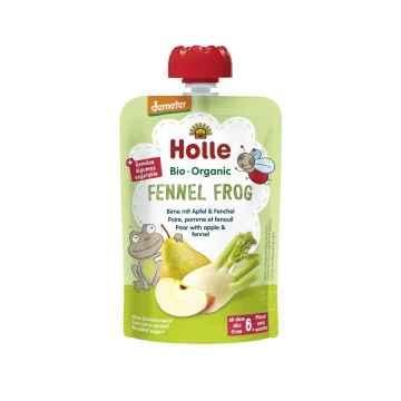 Holle Fennel Frog Bio pyré hruška, jablko a fenykl 100 g
