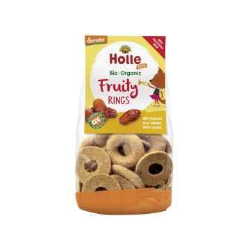 Holle Dětské ovocné kroužky s datlemi 125 g