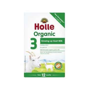 Holle Bio dětská mléčná výživa na bázi kozího mléka 3 pokračovací 400 g