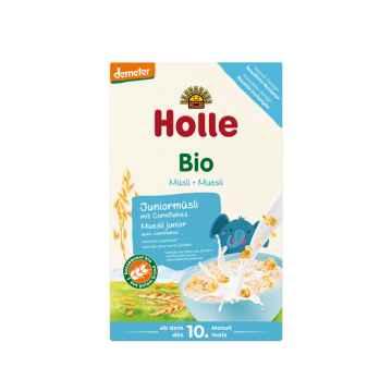 Holle Bio Junior musli vícezrnné s obilnými vločkami 250 g