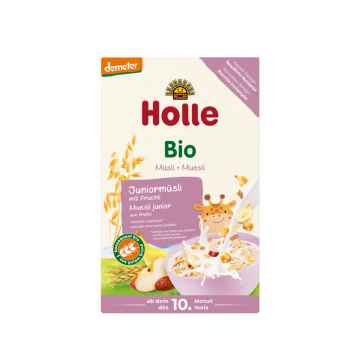 Holle Bio Junior musli 3 zrnné s ovocem 250 g