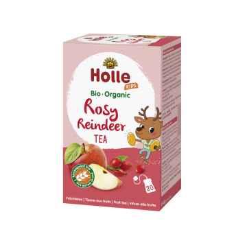Holle Bio Ovocný Rosy Reindeer čaj s lékořicí 30 g