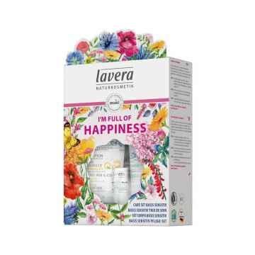 Lavera Dárkový set plný štěstí Basis sensitiv 1 ks