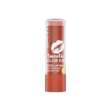 SANTE Smooth Color Kiss balzám na rty No.01 Jemně korálová 4,5 g