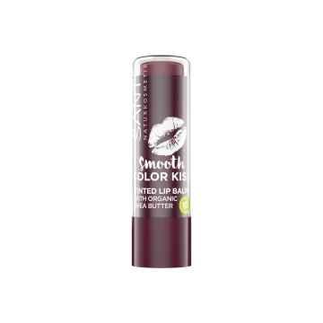 SANTE Smooth Color Kiss balzám na rty No.03 Jemně švestková 4,5 g