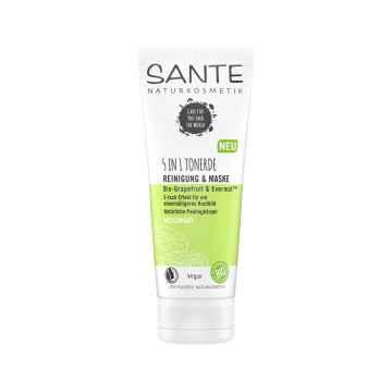 SANTE 5v1 Čištění & Maska Bio Grapefruit & Evermat 100 ml