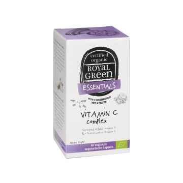 Royal Green Bio Vitamín C komplex, kapsle 60 ks