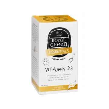 Royal Green Vitamín D3, tablety 120 ks