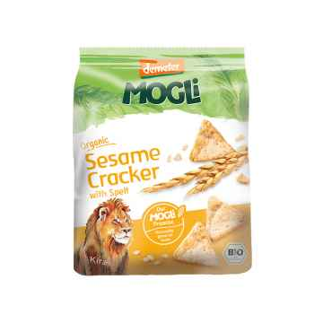 MOGLI Bio Sezamové krekry 80 g