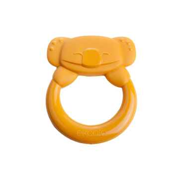 eKoala eKummy BIO plast Kousátko koala oranžová 1 ks