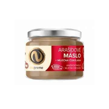 Nupreme Arašídové máslo s mléčnou čokoládou 220 g