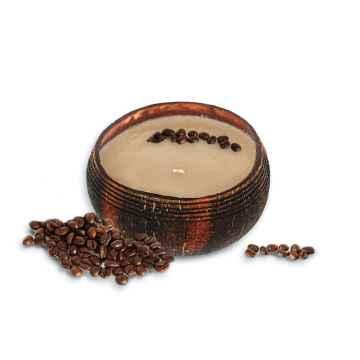 TROPIKALIA Veganská svíčka v kokosu coffee mocha 350 ml