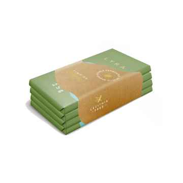 LYRA Vegan čokoládový set 4 x 25 g