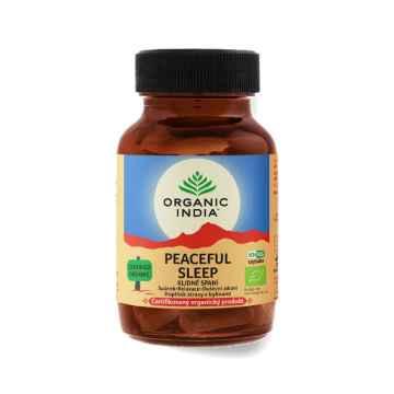 Organic India Klidné spaní BIO, kapsle 60 ks, 26,4 g