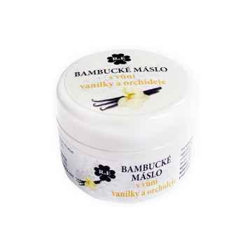 RaE Bambucké máslo s vůni vanilky a orchideje 30 ml, plastový obal