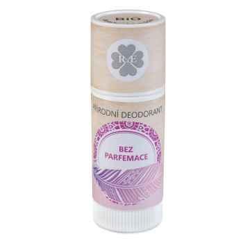 RaE Přírodní deodorant roll-on bez parfemace 25 ml, plastový obal