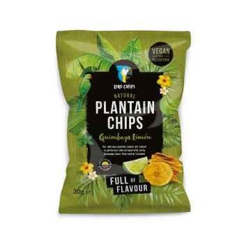 Loro Crisps Veganské chipsy limetka 30 g