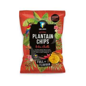 Loro Crisps Veganské chipsy Latin chilli 30 g