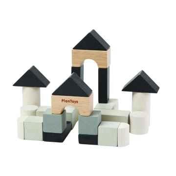 PLAN TOYS Mini stavební set 24 ks
