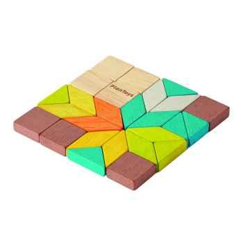PLAN TOYS Mini mozaika 26 ks