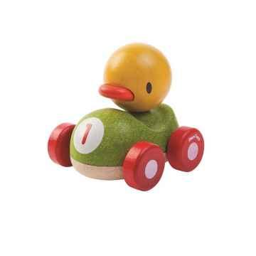 PLAN TOYS Závodník kachna 1 ks