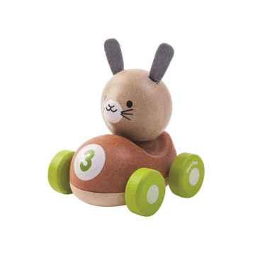 PLAN TOYS Závodník králíček 1 ks