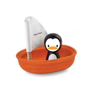 PLAN TOYS Plachetnice s tučňákem 3 ks